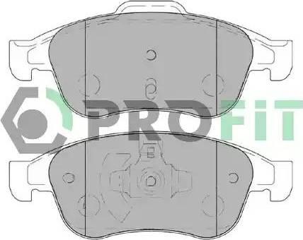 Profit 5000-4180 - Тормозные колодки, дисковые car-mod.com