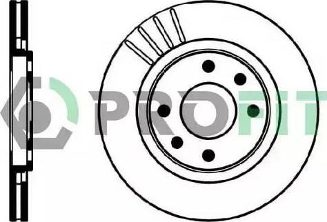 Profit 5010-0192 - Тормозной диск autodnr.net