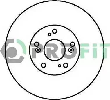 Profit 5010-1424 - Тормозной диск autodnr.net