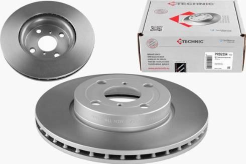 Protechnic PRD2554 - Тормозной диск autodnr.net