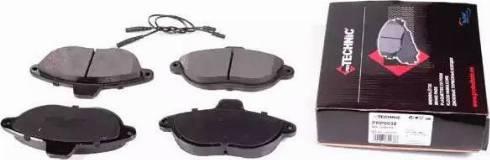 Protechnic PRP0038 - Комплект тормозных колодок, дисковый тормоз autodnr.net