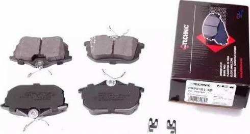 Protechnic PRP0101-3M - Комплект тормозных колодок, дисковый тормоз autodnr.net