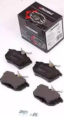 Protechnic PRP0101 - Комплект тормозных колодок, дисковый тормоз autodnr.net