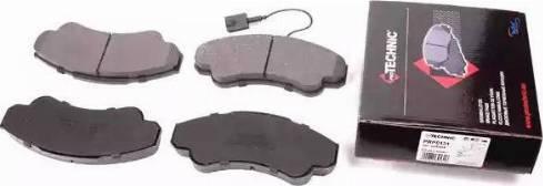 Protechnic PRP0131 - Комплект тормозных колодок, дисковый тормоз autodnr.net