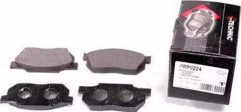 Protechnic PRP0224 - Комплект тормозных колодок, дисковый тормоз autodnr.net