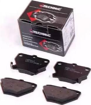 Protechnic PRP0412 - Комплект тормозных колодок, дисковый тормоз autodnr.net