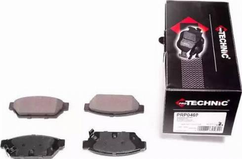Protechnic PRP0469 - Комплект тормозных колодок, дисковый тормоз autodnr.net