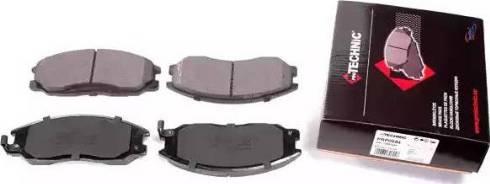 Protechnic PRP0694 - Комплект тормозных колодок, дисковый тормоз autodnr.net