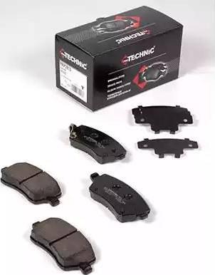 Protechnic PRP0913 - Комплект тормозных колодок, дисковый тормоз autodnr.net