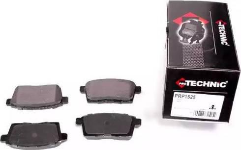 Protechnic PRP1525 - Комплект тормозных колодок, дисковый тормоз autodnr.net