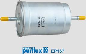 Purflux EP167 - Паливний фільтр autocars.com.ua