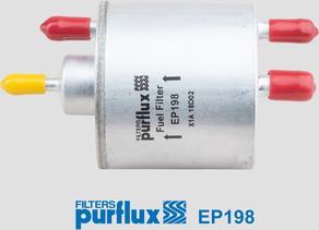 Purflux EP198 - Паливний фільтр autocars.com.ua
