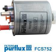 Purflux FCS752 - Паливний фільтр autocars.com.ua