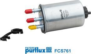Purflux FCS761 - Паливний фільтр autocars.com.ua