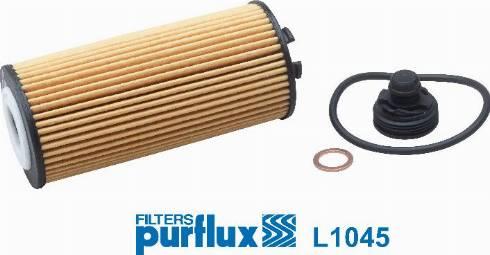 Purflux L1045 - Масляний фільтр autocars.com.ua