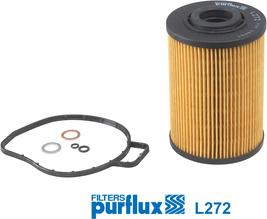 Purflux L272 - Масляний фільтр autocars.com.ua