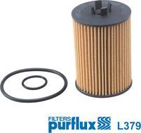 Purflux L379 - Масляний фільтр autocars.com.ua