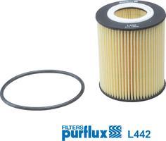 Purflux L442 - Масляний фільтр autocars.com.ua