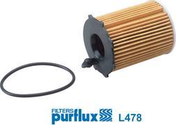 Purflux L478 - Масляний фільтр autocars.com.ua
