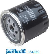 Purflux LS498C - Масляний фільтр autocars.com.ua