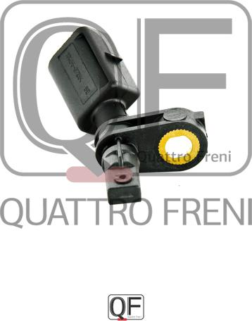 Quattro Freni QF00T00159 - Датчик ABS, частота вращения колеса avtokuzovplus.com.ua