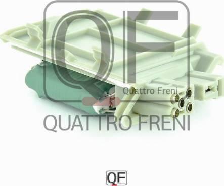 Quattro Freni QF10Q00040 - Сопротивление, вентилятор салона autodnr.net