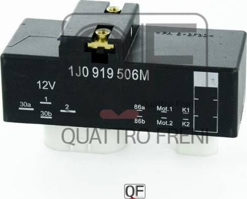 Quattro Freni QF25A00062 - Блок управления, эл. вентилятор (охлаждение двигателя) car-mod.com