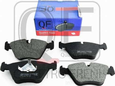 Quattro Freni QF54000203 - Комплект тормозных колодок, дисковый тормоз autodnr.net