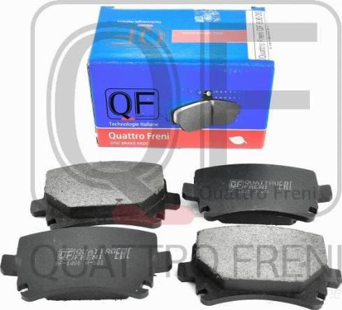 Quattro Freni QF80600 - Тормозные колодки, дисковые car-mod.com