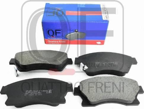 Quattro Freni QF82902 - Тормозные колодки, дисковый тормоз avtokuzovplus.com.ua