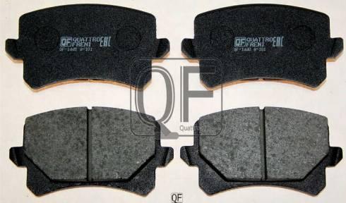 Quattro Freni QF84000 - Тормозные колодки, дисковые car-mod.com