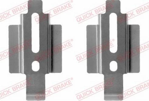 QUICK BRAKE 1091178 - Комплектующие, колодки дискового тормоза autodnr.net