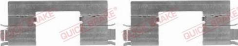 QUICK BRAKE 109-1798R-1 - Комплектующие, колодки дискового тормоза avtokuzovplus.com.ua