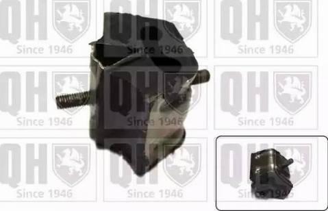 Quinton Hazell EM1607 - Подушка, підвіска двигуна autocars.com.ua