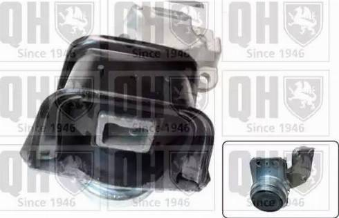 Quinton Hazell EM4468 - Подушка, підвіска двигуна autocars.com.ua