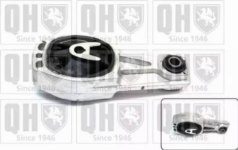 Quinton Hazell EM4503 - Подушка, підвіска двигуна autocars.com.ua
