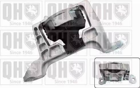Quinton Hazell EM4606 - Подушка, підвіска двигуна autocars.com.ua