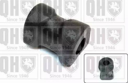 Quinton Hazell EMB3070 - Втулка стабілізатора, нижній сайлентблок autocars.com.ua