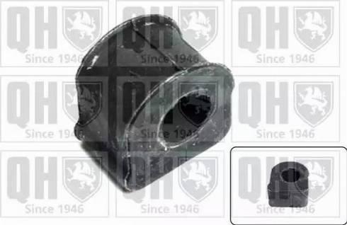 Quinton Hazell EMB7122 - Втулка стабілізатора, нижній сайлентблок autocars.com.ua