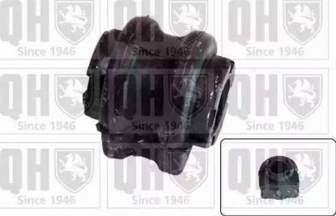 Quinton Hazell EMB7232 - Втулка стабілізатора, нижній сайлентблок autocars.com.ua