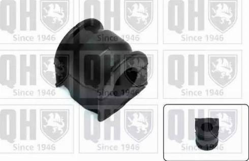 Quinton Hazell EMB7283 - Втулка стабілізатора, нижній сайлентблок autocars.com.ua