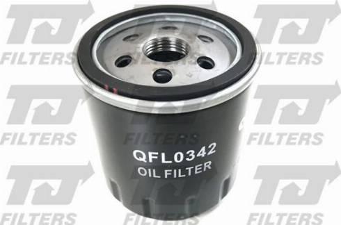 Quinton Hazell QFL0342 - Масляний фільтр autocars.com.ua