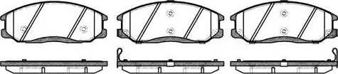 Remsa 0771.02 - Комплект тормозных колодок, дисковый тормоз autodnr.net