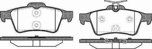 A.B.S. 37477 - Комплект тормозных колодок, дисковый тормоз autodnr.net
