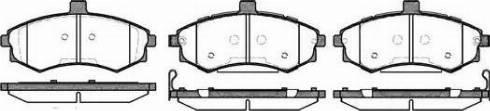 Remsa 0893.02 - Тормозные колодки, дисковые car-mod.com