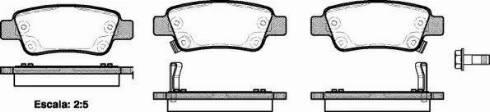 Remsa 1290.02 - Комплект тормозных колодок, дисковый тормоз autodnr.net
