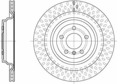 Remsa 61635.10 - Тормозной диск autodnr.net