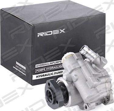 RIDEX 12H0014 - Гидравлический насос, рулевое управление, ГУР car-mod.com