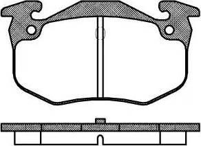 Roadhouse 2144.60 - Комплект тормозных колодок, дисковый тормоз autodnr.net