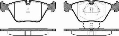 Roadhouse 2270.00 - Комплект тормозных колодок, дисковый тормоз autodnr.net